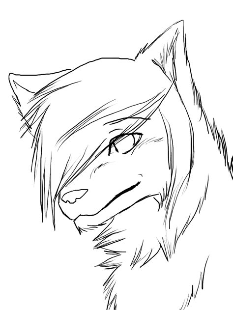 easy  draw anime wolf google search anime wolf