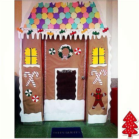 gingerbread house classroom door christmas classroom door