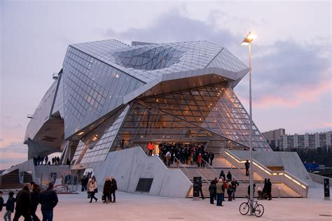 lyon s light and modern mus 233 e des confluences opencity projects