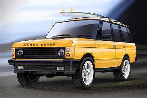 Land Rover Classic by Custom Range Rover Classic By Ecd Hiconsumption