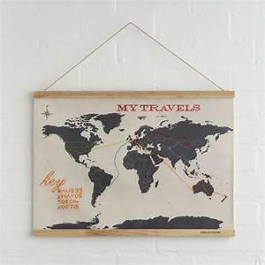 Carte Du Monde Design : carte du monde broder suck uk absolument design ~ Teatrodelosmanantiales.com Idées de Décoration