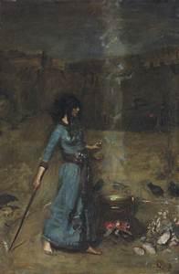 File:John William Waterhouse - The Magic Circle (study ...