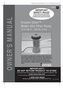 Intex Pool Pump Impeller Replacement Parts