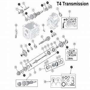 T4  U0026 T5 Transmission Front Bearing Retainer