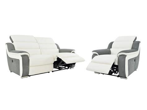 canapé et fauteuil relax canapé et fauteuil relax électrique bimatière arena ii