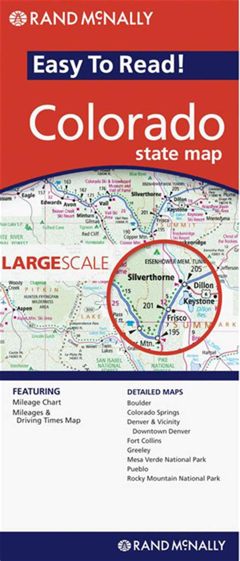 rand mcnally maps and directions colorado state map rand mcnally maps books travel guides buy