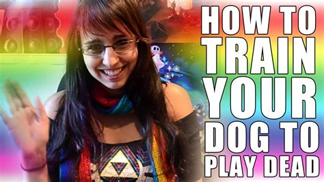 how to teach your to play dead how to train your dog to play dead youtube