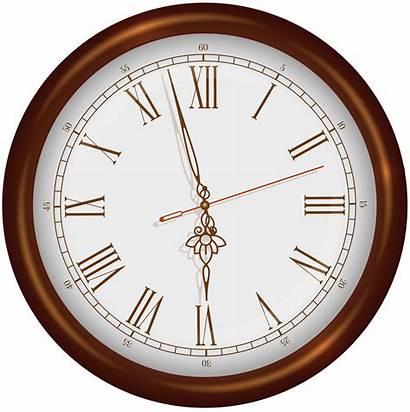 Clock Clipart Clocks Ring Clip Brown Transparent