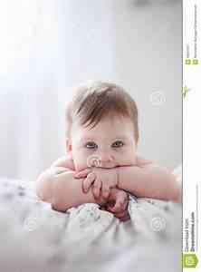 Thinking Baby Royalty Free Stock Photography - Image: 18997347