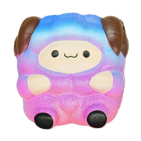jumbo sheep squishy galaxy rainbow alpaca rising scented gift ebay