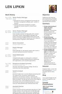 Accountant Resume Template Word Senior Product Manager Resume Example Resume Template