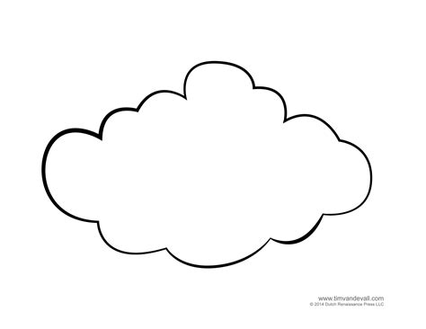 cloud template tim de vall comics printables for