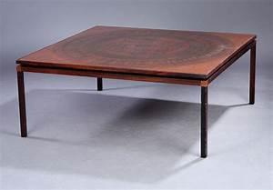 Table Basse Cuivre Rose : table basse exclusive en bois de rose dessus incrust de cuivre catawiki ~ Melissatoandfro.com Idées de Décoration