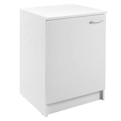 meuble bas cuisine 60 cm meuble de cuisine bas 1 porte 60 cm blanc primalight 3