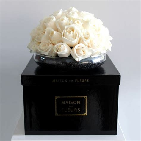 square box with white roses mdf flowers flower instagram and white roses