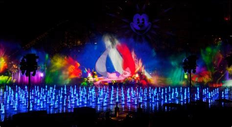 world of color times disney hopes to revive park with a display the