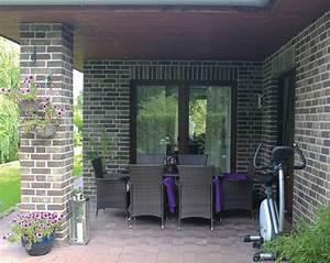 überdachte Terrasse Bauen : raumgef hl grundriss bungalow 110 qm schl sselfertig bauen winkelbungalow ~ Markanthonyermac.com Haus und Dekorationen