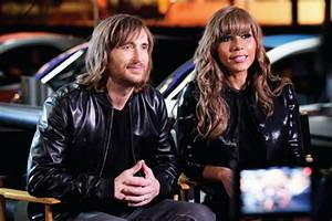 Cathy and David Guetta Promoting Renault Twizy – POPSOP
