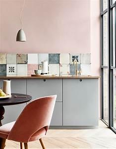 Cuisine Rose Poudré : cuisine color e d couvrez toutes nos inspirations elle d coration ~ Melissatoandfro.com Idées de Décoration