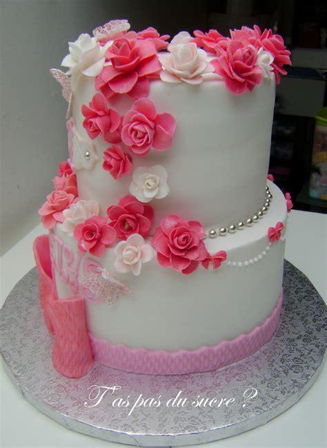 decoration gateau d anniversaire pour fille g 226 teau d anniversaire fille 1 an taspasdusucre overblog