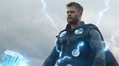 avengers endgame thor lightning   wallpaper