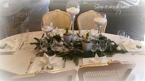 Decoration De Noel Table : deco table de no l en blanc scrap et d co de tables ~ Melissatoandfro.com Idées de Décoration