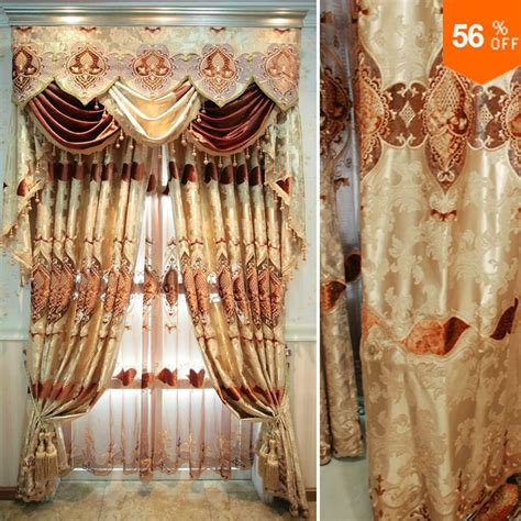 curtains for windows quality new style embroidered
