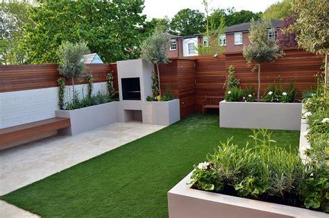 Contemporary Backyard by Modern Garden Design Fulham Chelsea Clapham Battersea