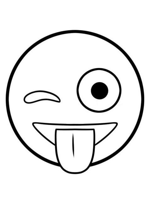 Kleurplaat Em Oji by N De 25 Ausmalbilder Emoji