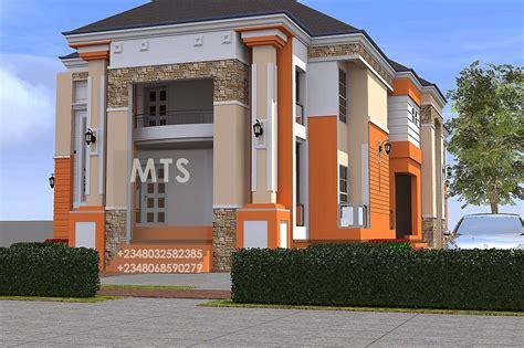 anosike  bedroom duplex  bedroom flats modern  contemporary nigerian building designs