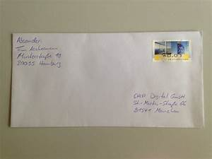 Bilder Richtig Aufhängen Anordnung : brief beschriften absender empf nger richtig setzen ~ Frokenaadalensverden.com Haus und Dekorationen