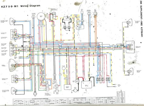 Kawasaki Kz750 Wiring Diagram by Wrg 4423 Kz1000 Routing Wiring Diagram