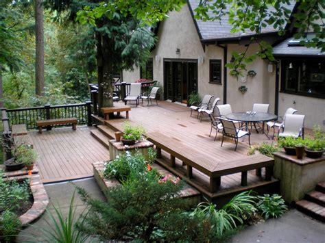 Backyard Decks Ideas by Deck Ideas Designs Pictures Photogallery Decks