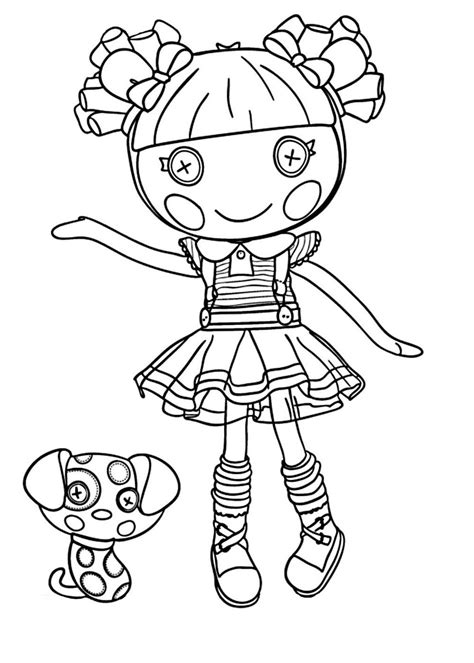 Lalaloopsy coloring Coloring pages Cute coloring pages
