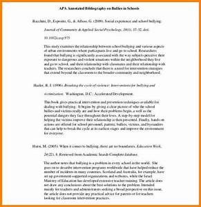 5+ annotated bibliography apa samples | Annotated bibliography
