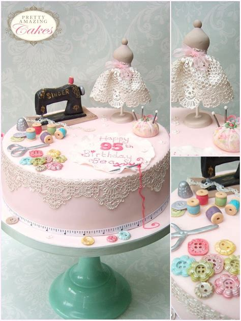 sewing cake ideas  pinterest sewing machine