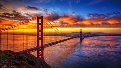 Gate Golden Bra Cke Himmel Orange