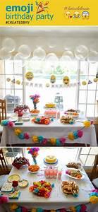 An Emoji Birthday Party Created By V