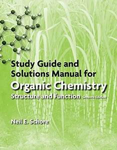 9781464162251  Study Guide  Solutions Manual For Organic