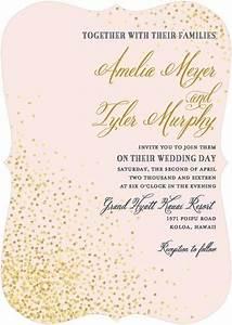 effervescent sparkle invitation by wedding paper divas With wedding paper divas gold invitations