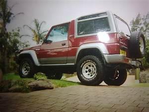 balbo 1994 Daihatsu Rocky Specs, Photos, Modification Info