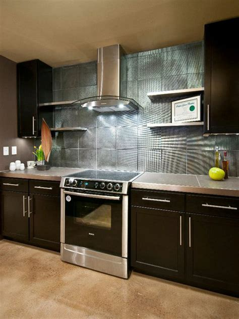 kitchen backsplashes ideas do it yourself diy kitchen backsplash ideas hgtv