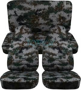 Jeep Wrangler Digital Camo Seat Cover
