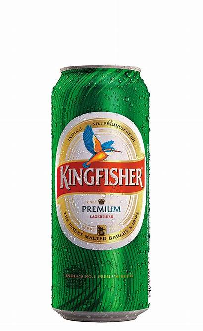 Kingfisher Premium Cans Beer 50cl Lager