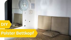Kissen Rückenlehne Wand : diy anleitung polster bettkopf selber machen roombeez powered by otto youtube ~ Eleganceandgraceweddings.com Haus und Dekorationen