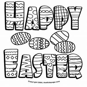 10 Free Easter Coloring Pages