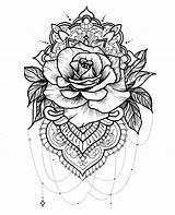 Coloring Pages Hard Flowers Realistic Printable Popular sketch template