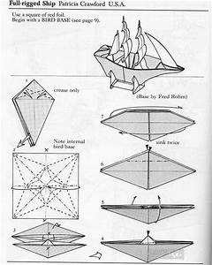 Origami Boat Instructions 1
