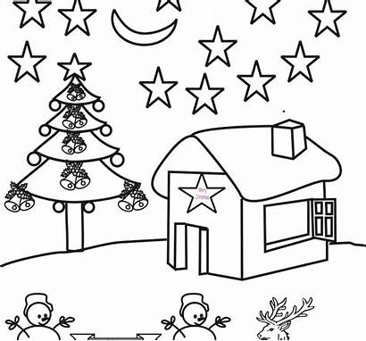 Coloring Scenery Pages Adults Winter Scene Jungle