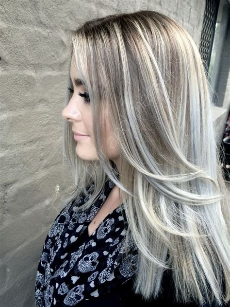 silber blond haare ash hair with silver highlights 2016